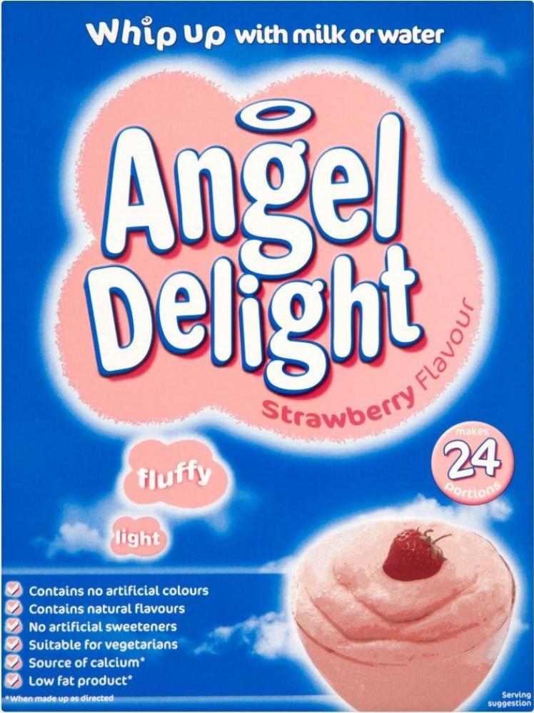 Angel Delight Strawberry Flavour Dessert 600g