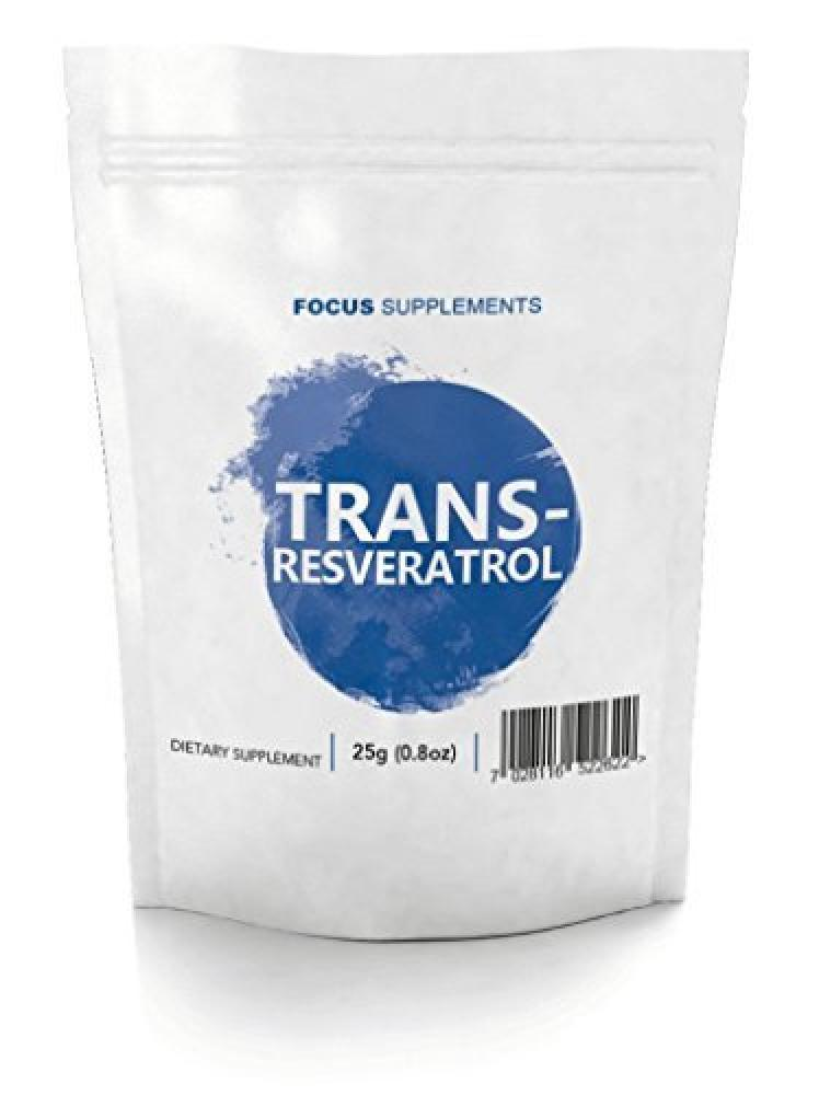 Focus Supplements Trans-Resveratrol 60 Tablets