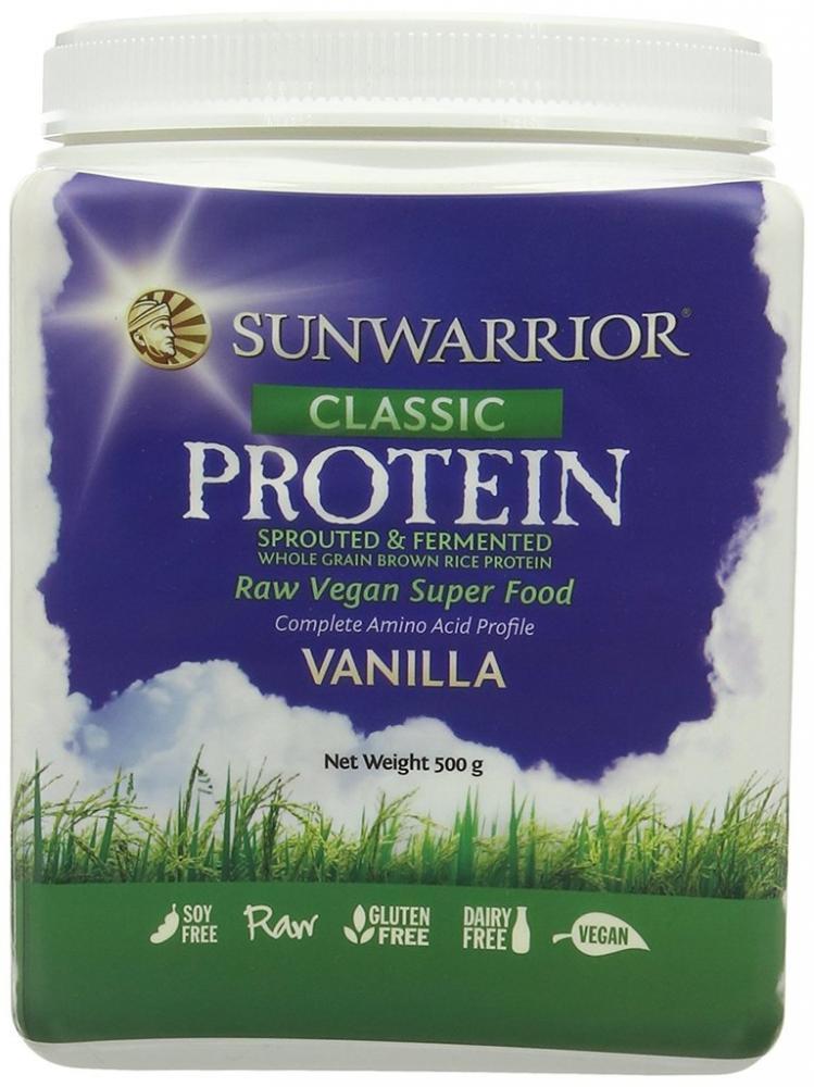 Sunwarrior Classic Protein Vanilla Flavour 500g