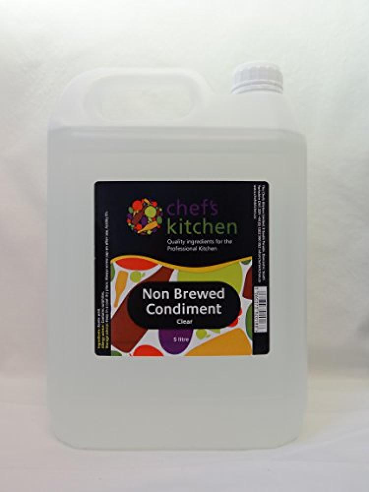 Chefs Kitchen Non Brewed Condiment Clear 5Litre