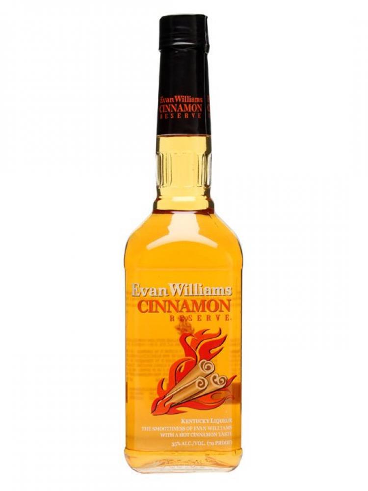 Evan Williams Cinnamon Reserve Bourbon Whiskey Liqueur 70cl