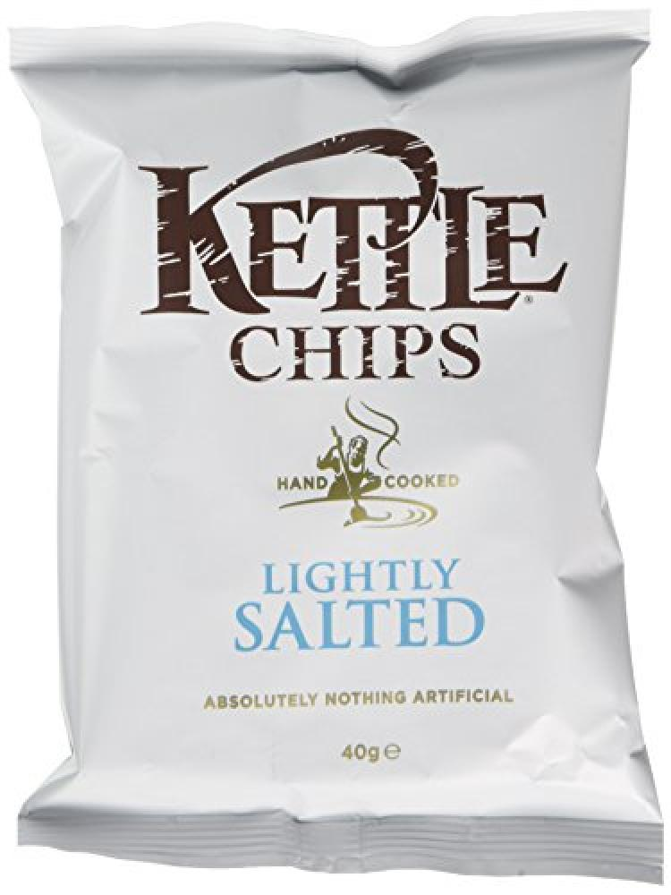Kettle Chips Lightly Salted 40 g