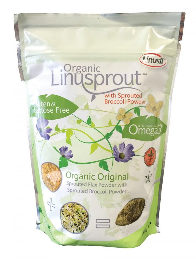 Linusit Organic Linusprout with Sprouted Broccoli Powder 375g