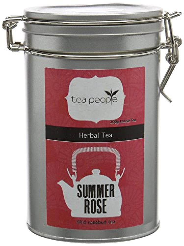 Tea People Summer Rose Loose Tea Caddy 100g