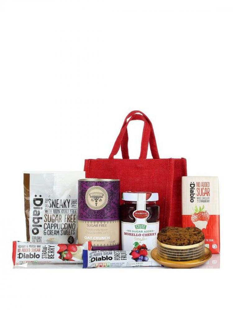 Virginia Hayward Diabetic Jute Bag