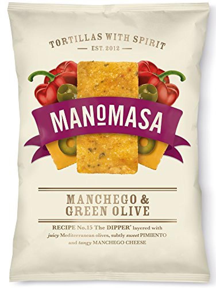 Manomasa Manch Olive Tortilla Chips 160 g