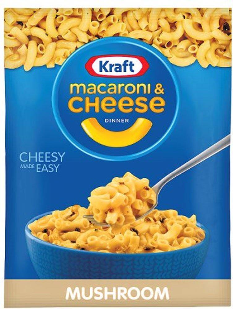 Kraft Macaroni and Cheese with Mushroom 59g