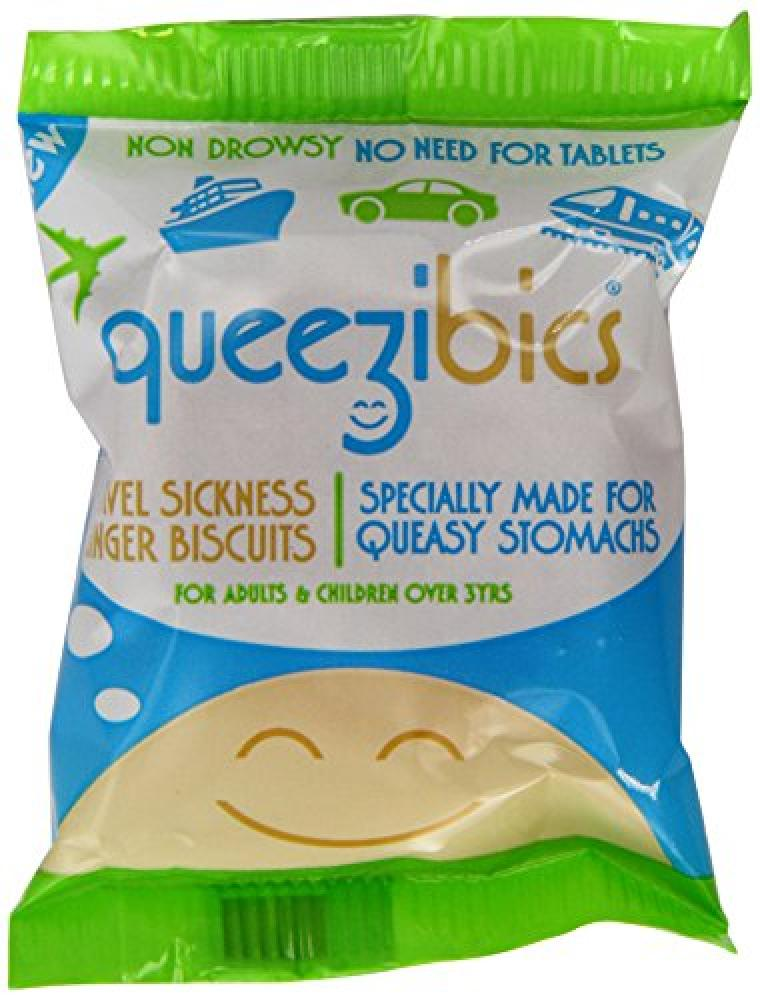 Queezibics Travel Sickness Ginger Biscuits