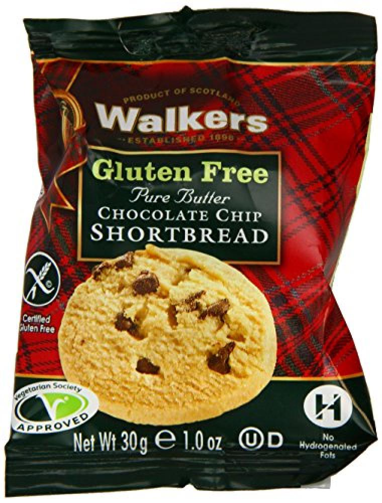 Walkers Shortbread Gluten Free Chocolate Chip Shortbread 30 g