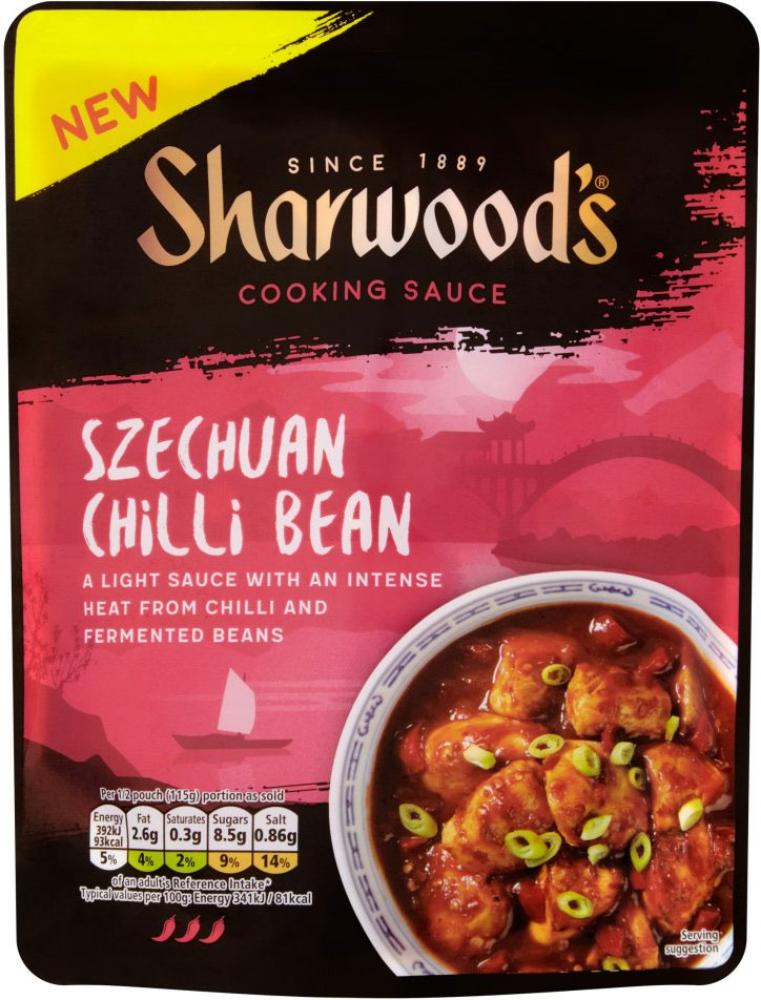 CLEARANCE  Sharwoods Szechuan Chilli Bean Cooking Sauce 230g