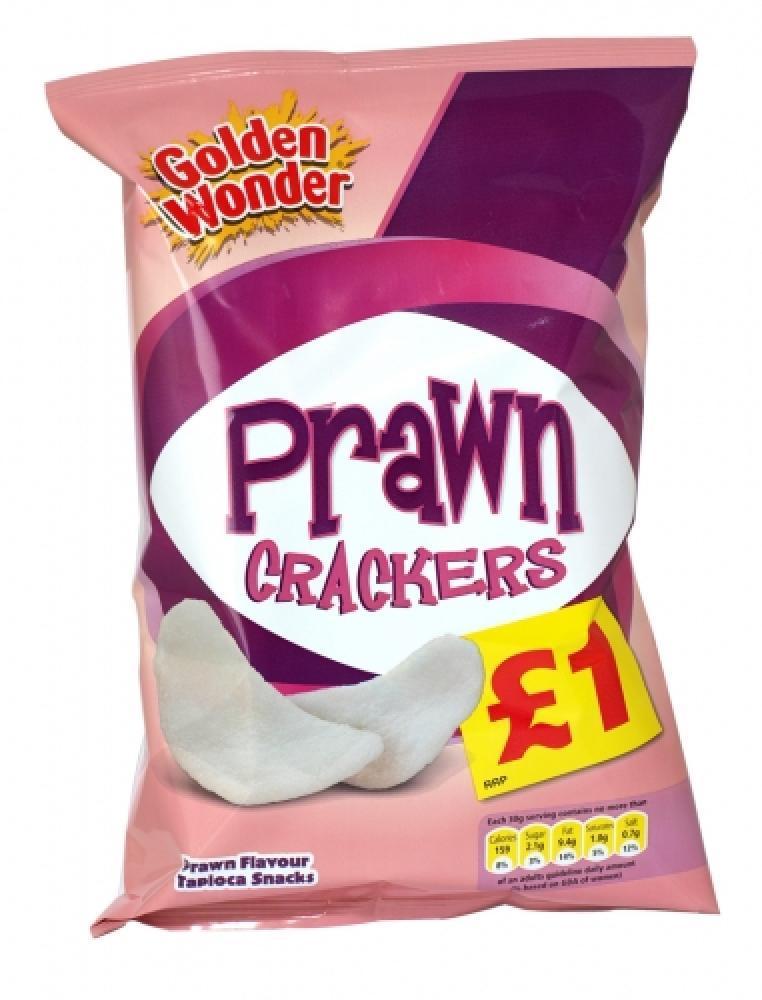 Golden Wonder Prawn Crackers 60g 60g