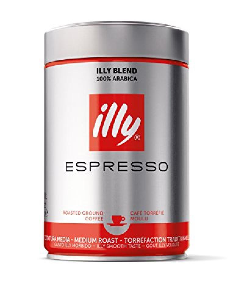 Illy Espresso Medium Roast Ground Coffee 250g