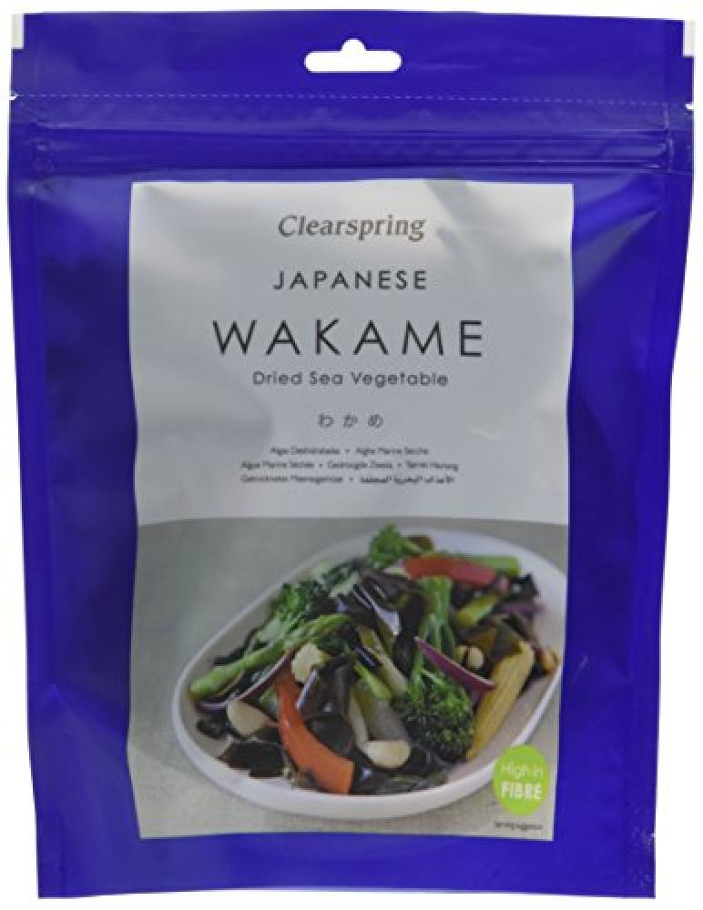 Clearspring Japanese Wakame Dried Sea Vegetable 50g