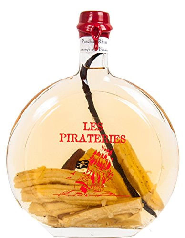 Fisselier Pirateries Banana Rum Punch Liqueur 50 cl