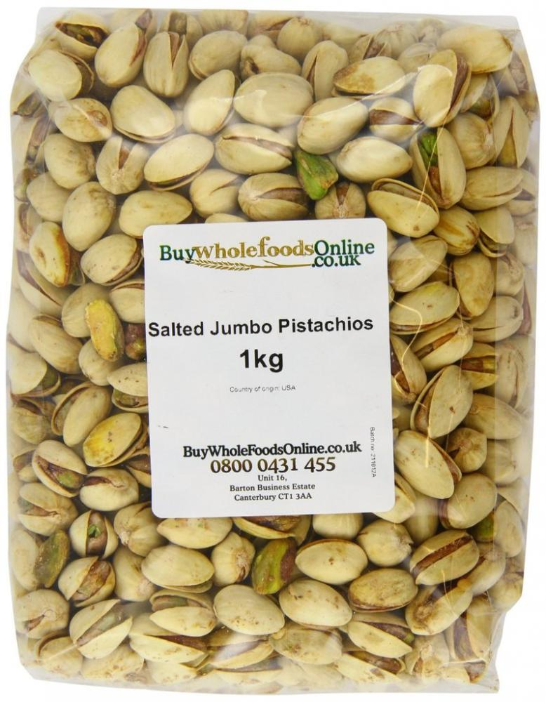 Buy Whole Foods Pistachio Nuts Jumbo Salted 1Kg