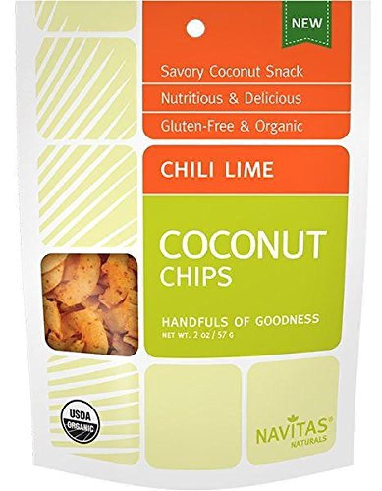 Navitas Naturals Chili Lime Coconut Chips 57g