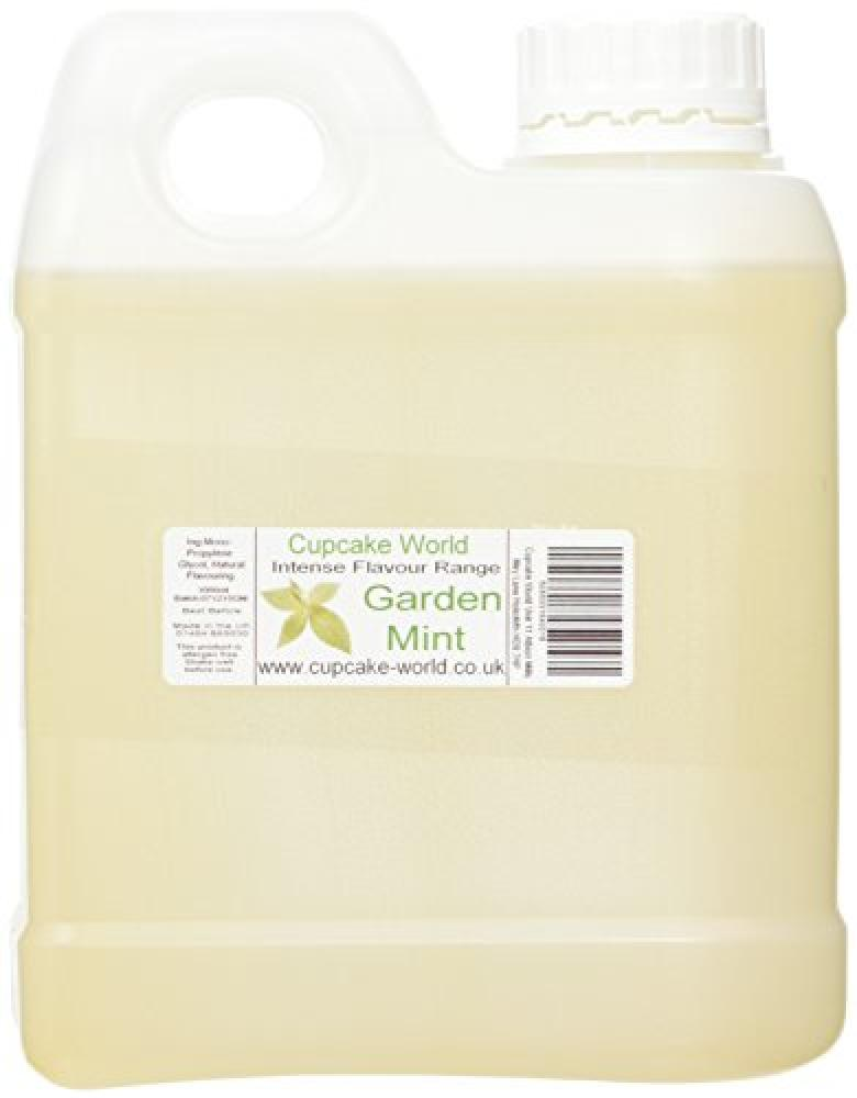 Cupcake World Garden Mint Intense Food Flavouring 1000 ml