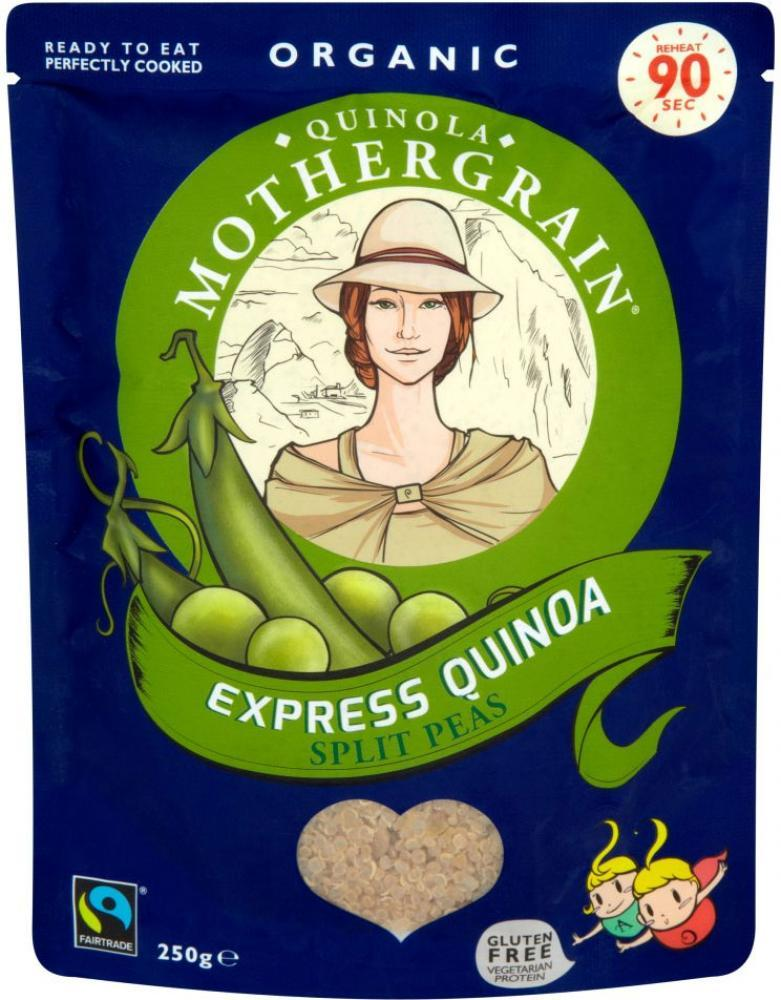Quinola Mothergrain Express Organic Quinoa - Split Peas 250g