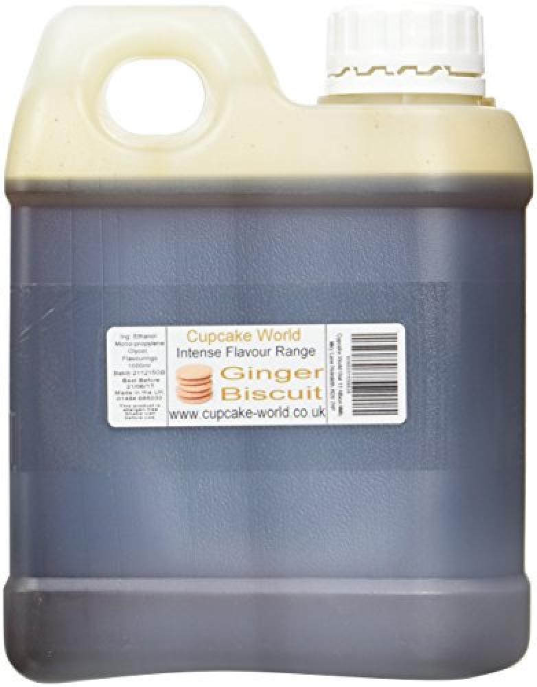 Cupcake World Ginger Biscuit Intense Food Flavouring 1000 ml