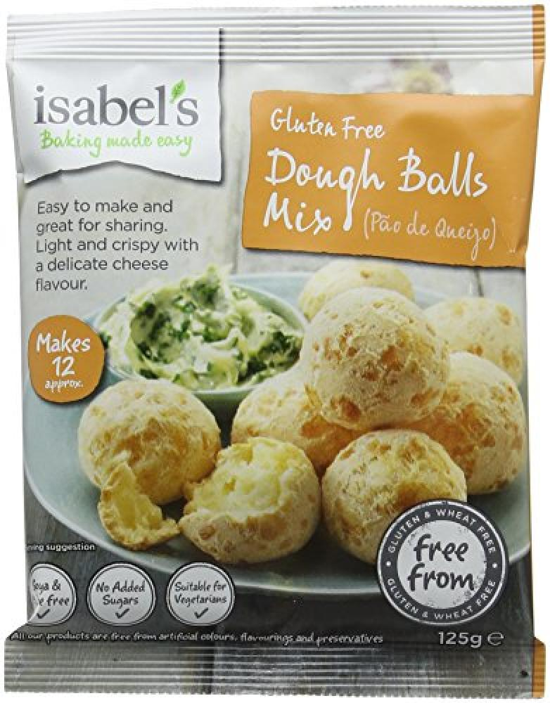 Isabels Dough Balls Mix 125g