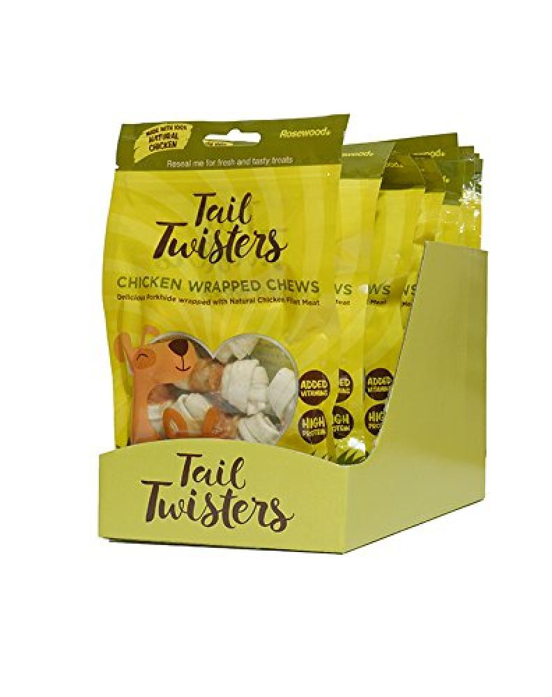 Rosewood Tail Twisters Chicken Wrapped Chews 84g