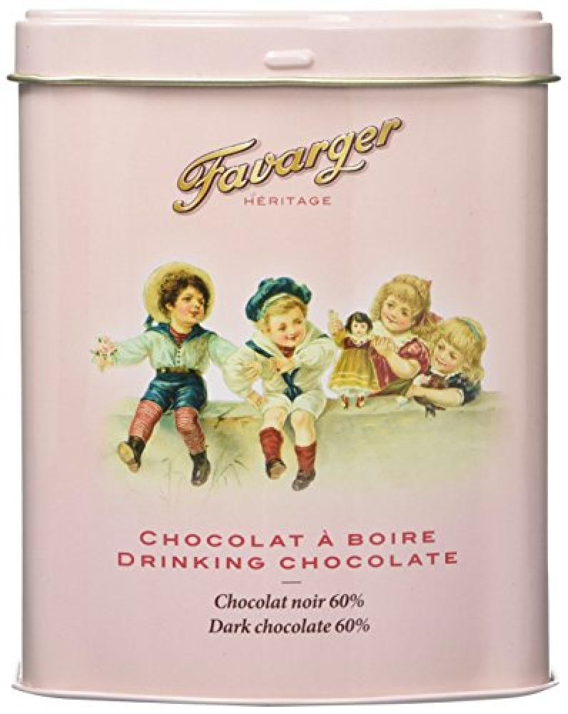 Favarger Heritage Hot Chocolate in Metal Tin 230 g