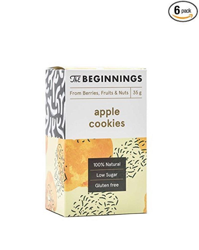 The Beginnings Apple Cookies 35g