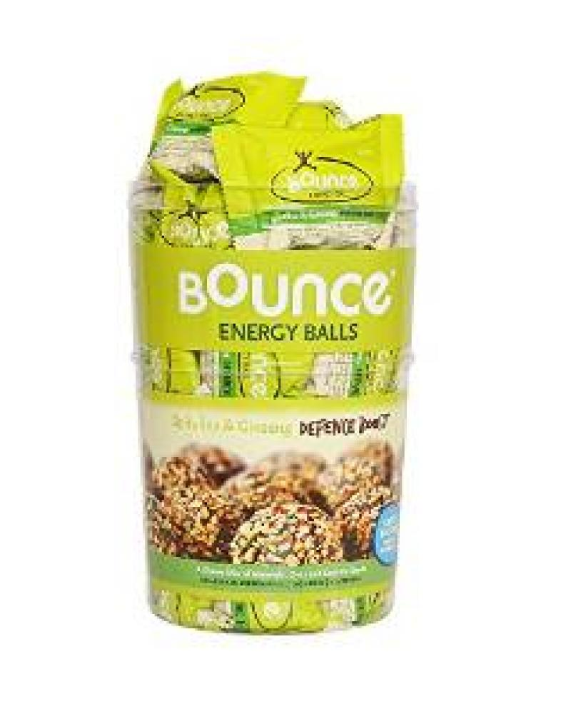 Bounce Foods Spirulina and Ginseng Defence Boost Energy Ball Pack of 40