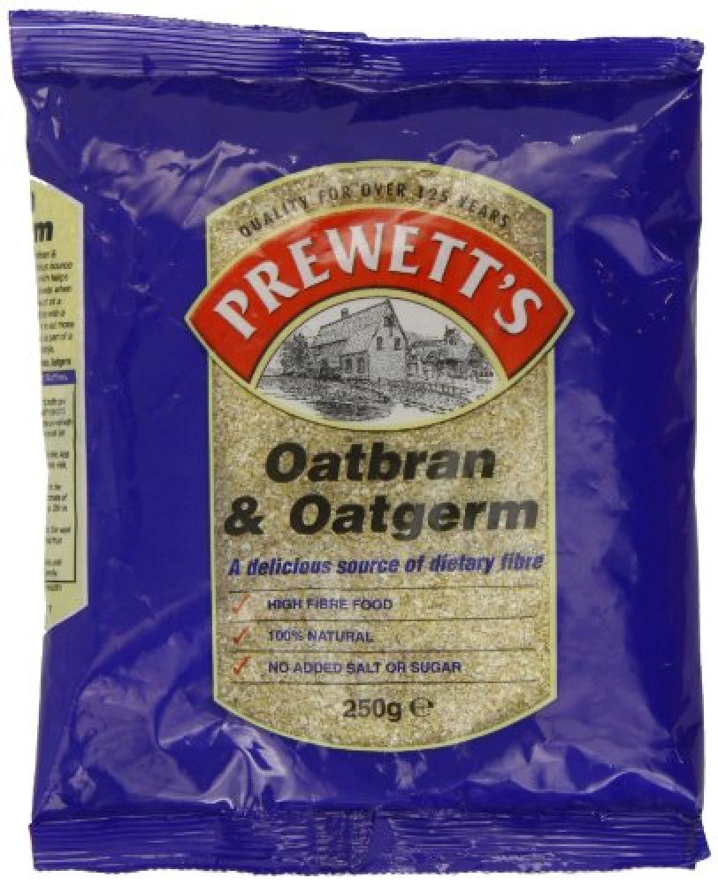 Prewetts Oatbran and Oatgerm 250 g