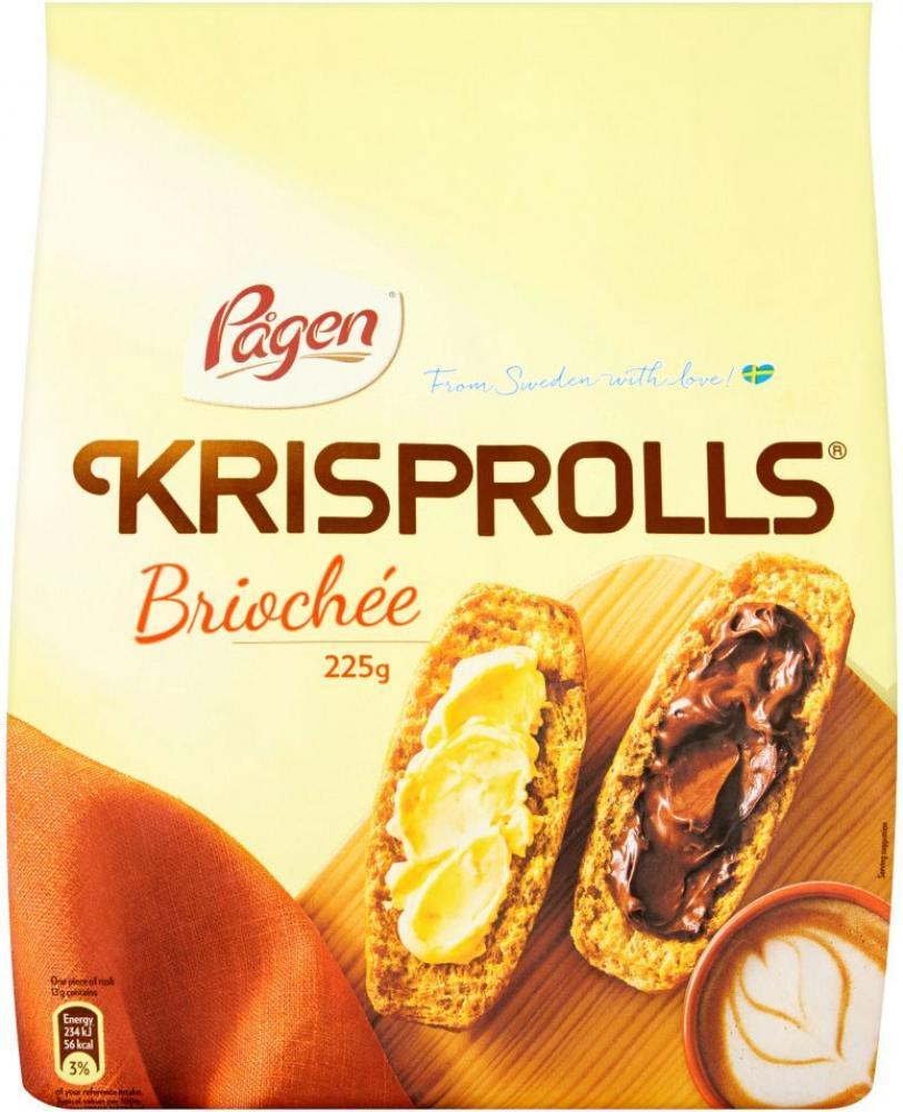 Pagen Krisprolls Brioche 225g