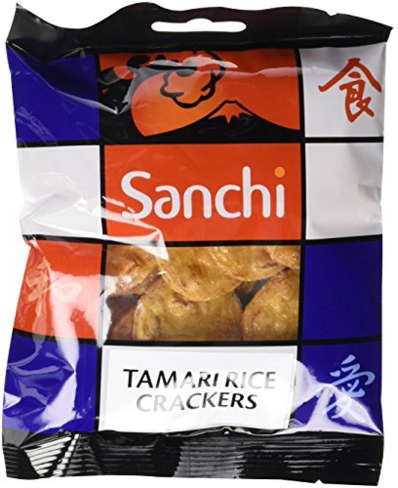 FURTHER REDUCTION  Sanchi Tamari Rice Crackers 50g