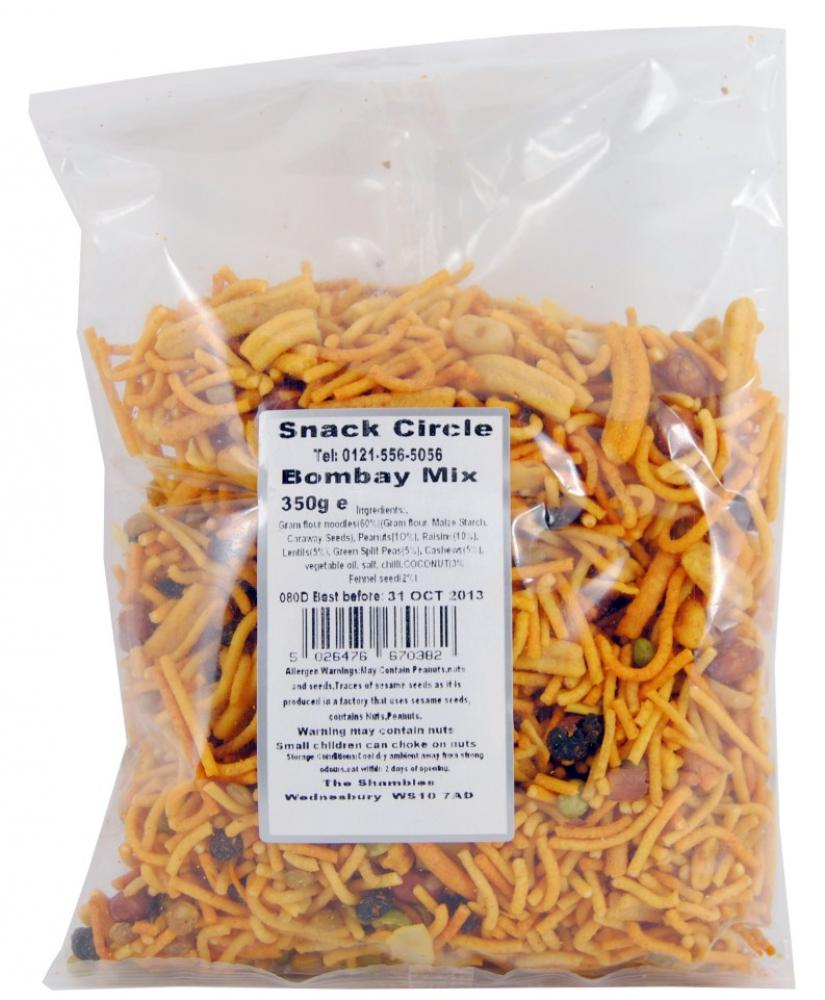 CLEARANCE  Snack Circle Bombay Mix 350g
