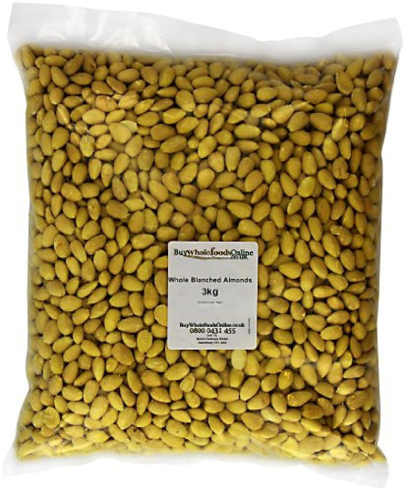 Buy Whole Foods Whole Blanched Almonds 2.5 Kg