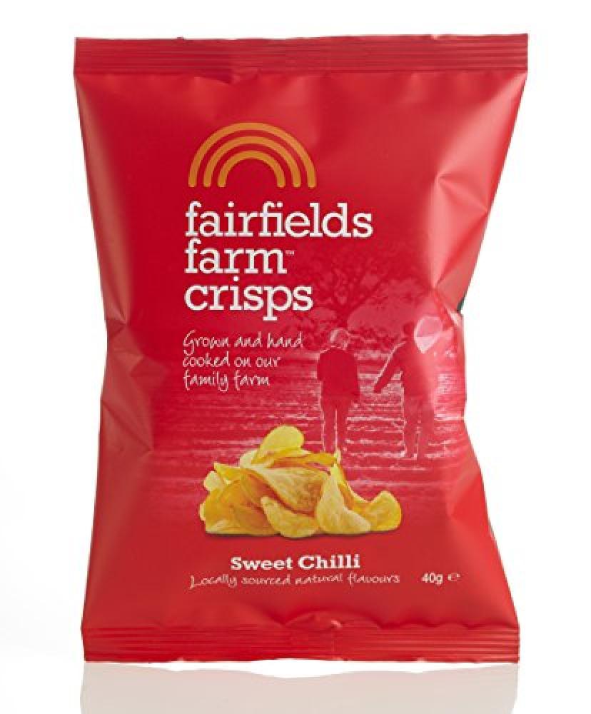 Fairfields Farm Crisps Sweet Chilli 40g
