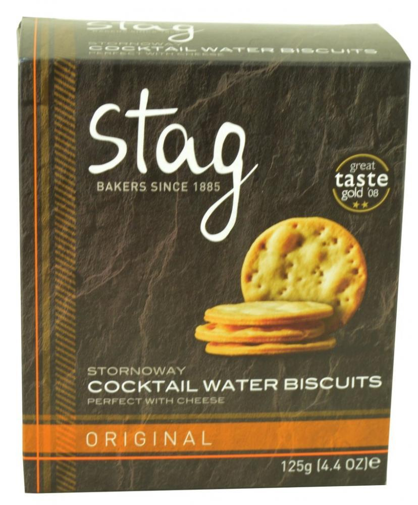 Stag Stornoway Cocktail Water Biscuits 125g