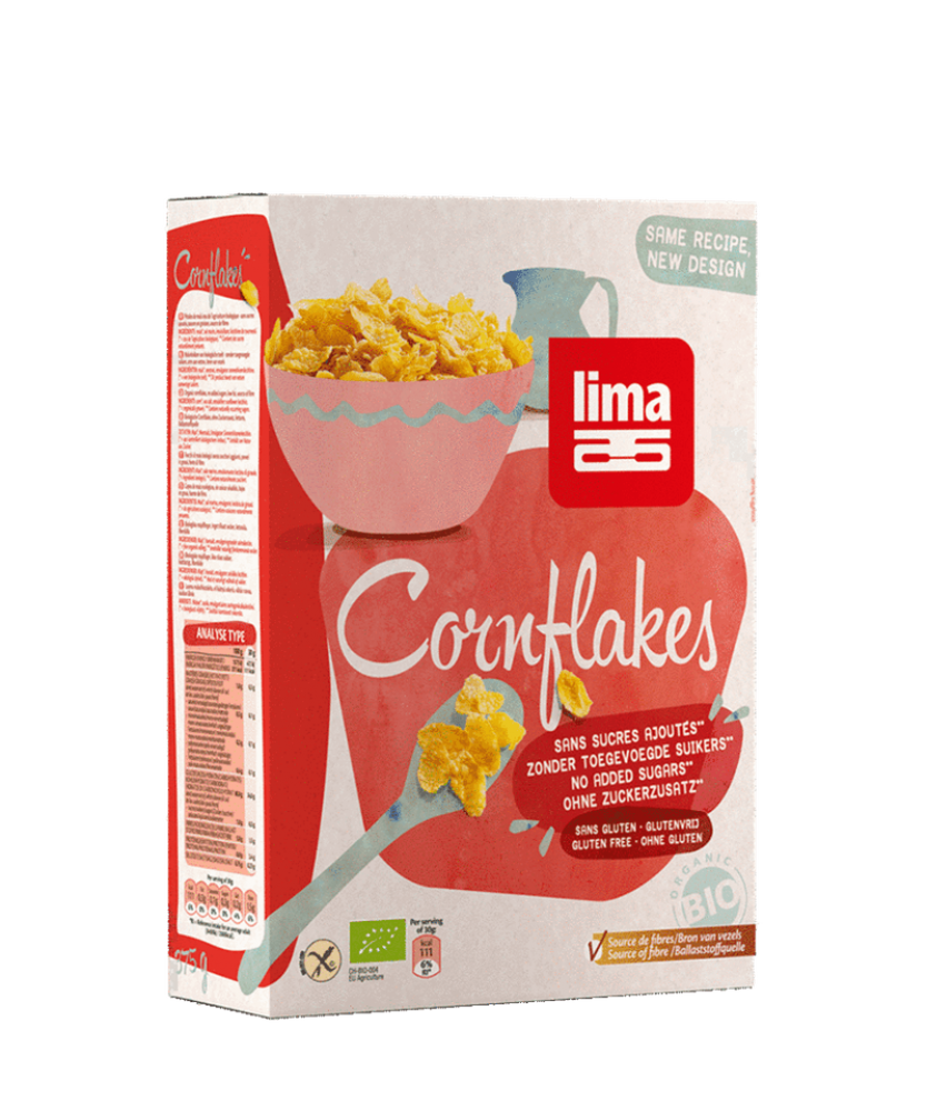 Lima Organic Cornflakes 375 g