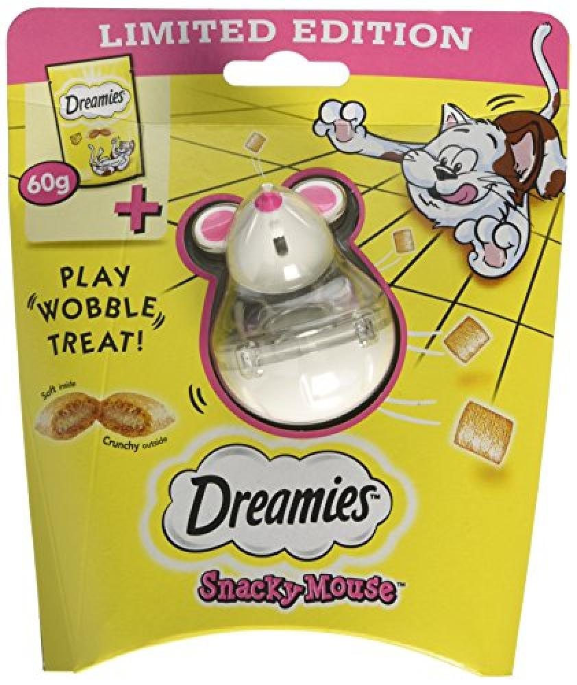 Dreamies Cat Treats Snacky Mouse with Cheese 60 g