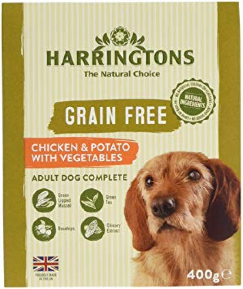 Harringtons Wet Chicken and Potato Dog Food 400g