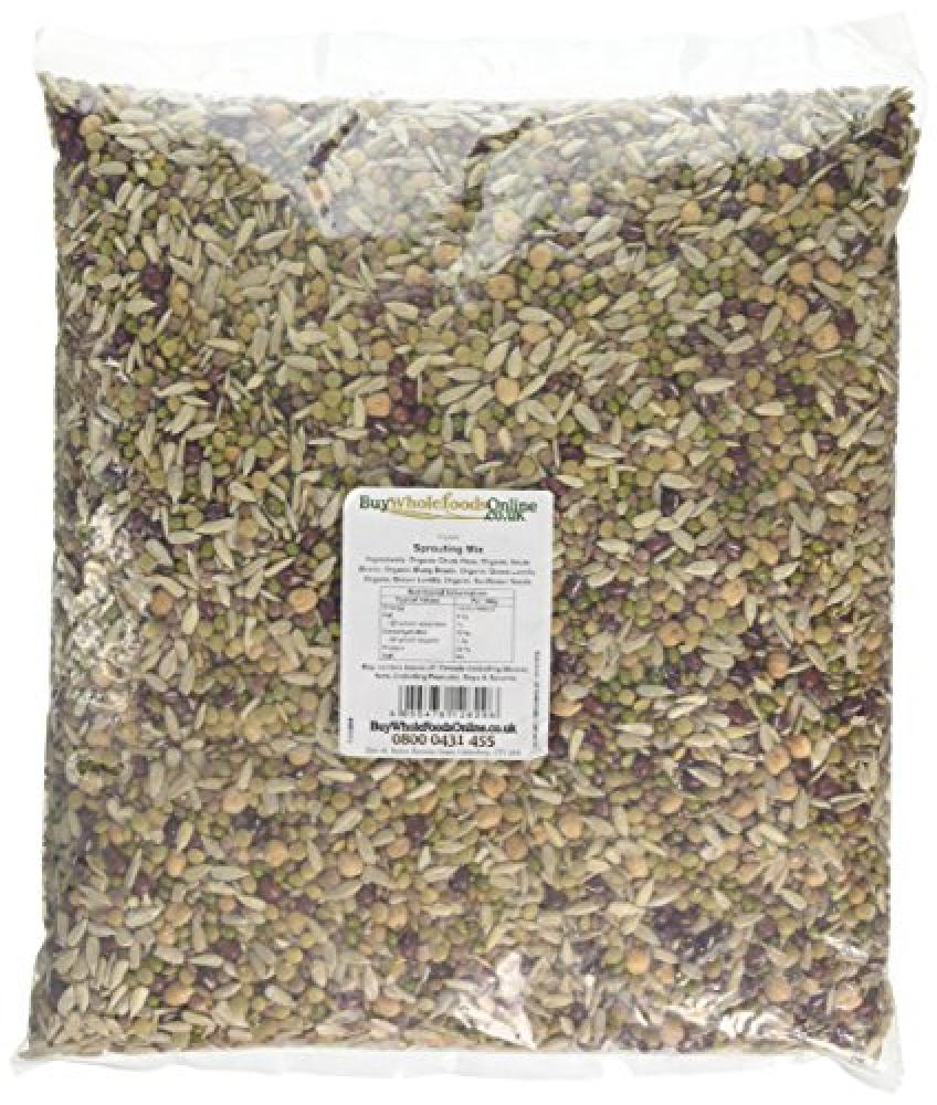 Buy Whole Foods Organic Sprouting Mix 2.5 kg