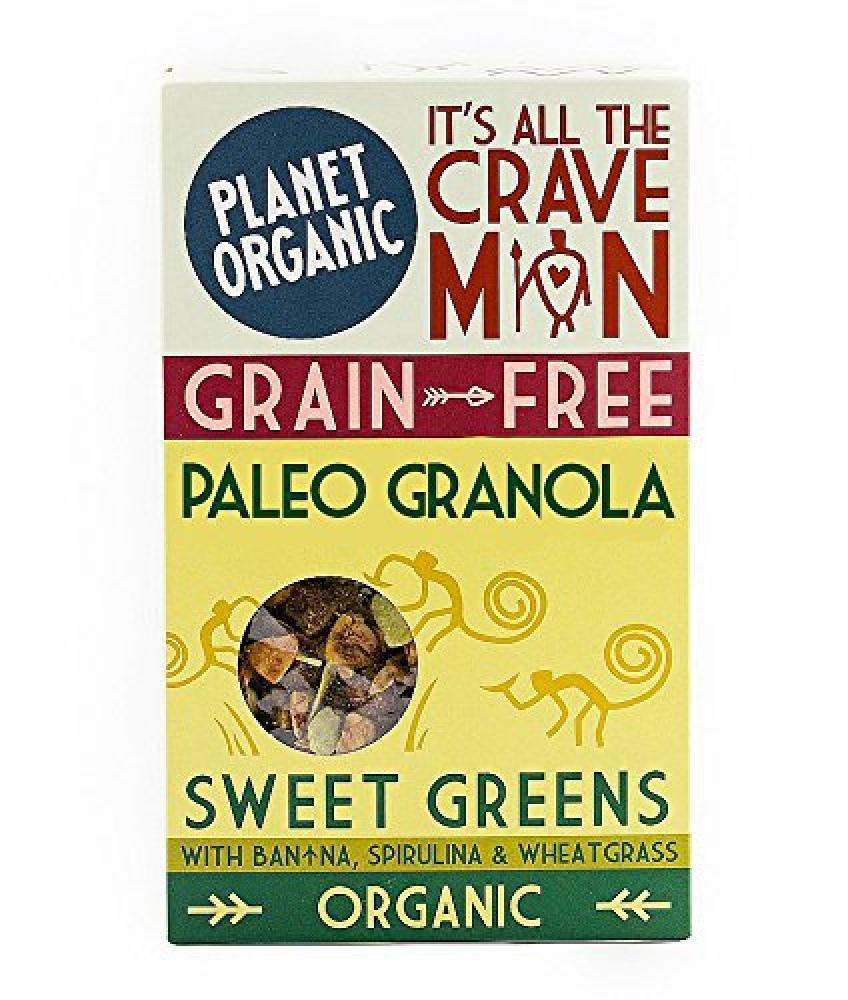 Planet Organic Sweet Greens Paleo Granola 350g