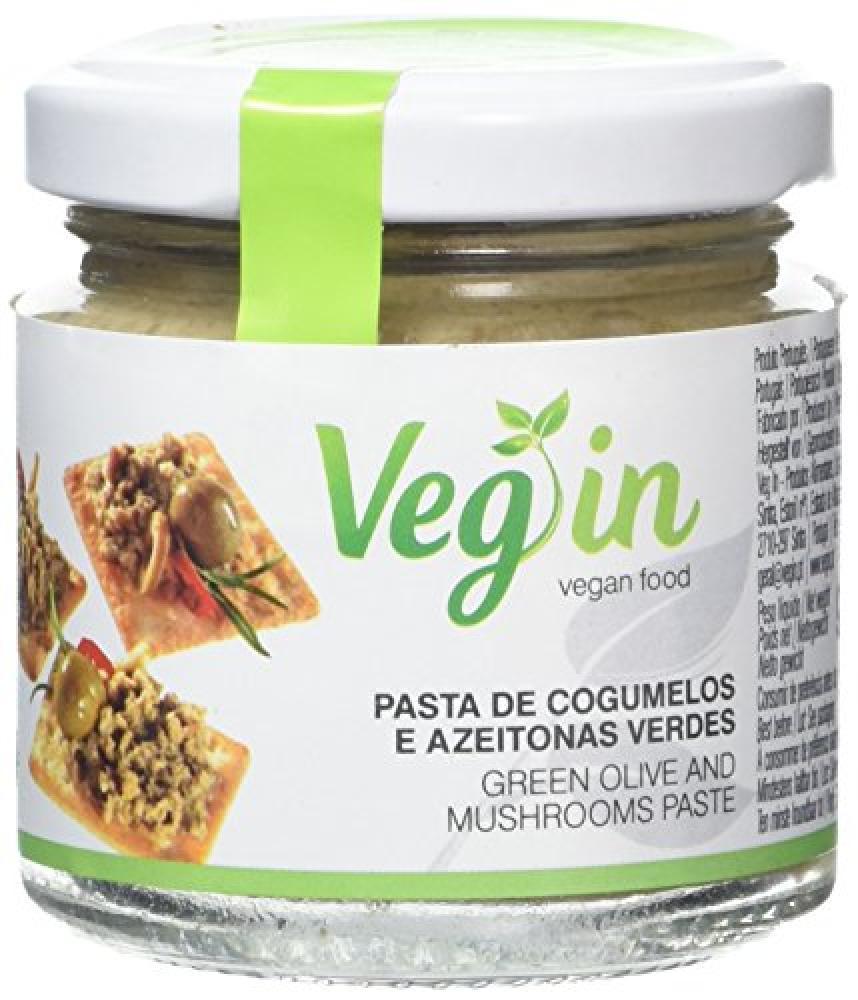 Vegin Green Olives and Mushroom Paste 90g