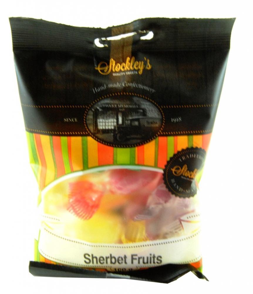 Stockleys Sherbet Fruits 100g