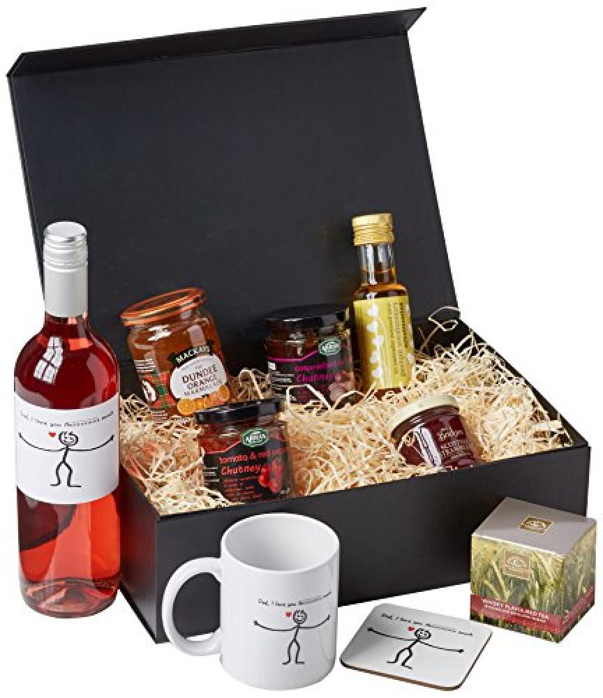 Ukgiftbox Dad I Love You This Much Rose Wine Regular Size Hamper