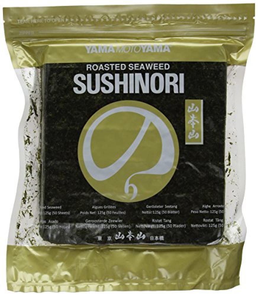 Yamamotoyama Yama Sushi Nori Gold Grade Seaweed Sheets 125g 50 Sheets
