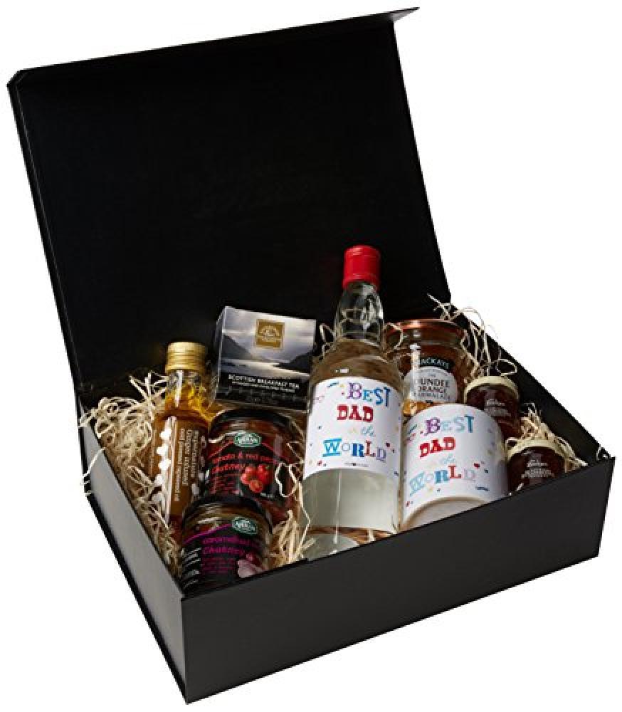 Ukgiftbox Best Dad in The World Vodka Regular Size Gift Hamper