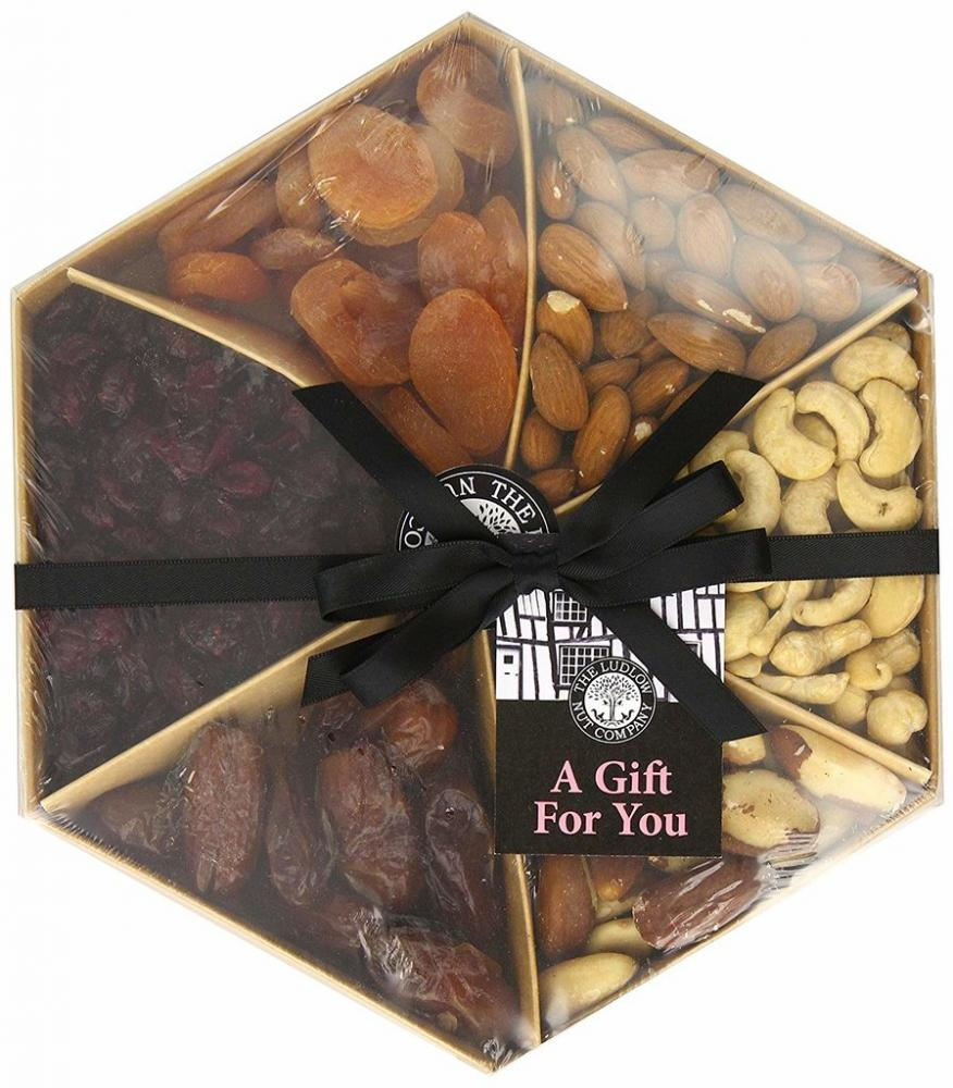 Ludlow Nut Fruit and Nut Gift Tray 540g