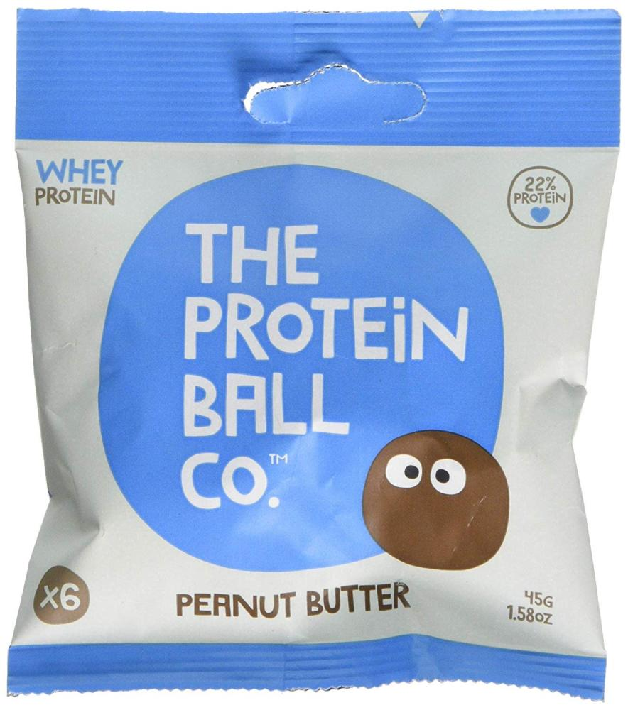 The Protein Ball Co Peanut Butter Protein snack 45 g