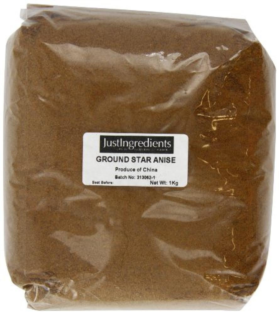 JustIngredients Essential Star Aniseed Ground Loose 1 Kg