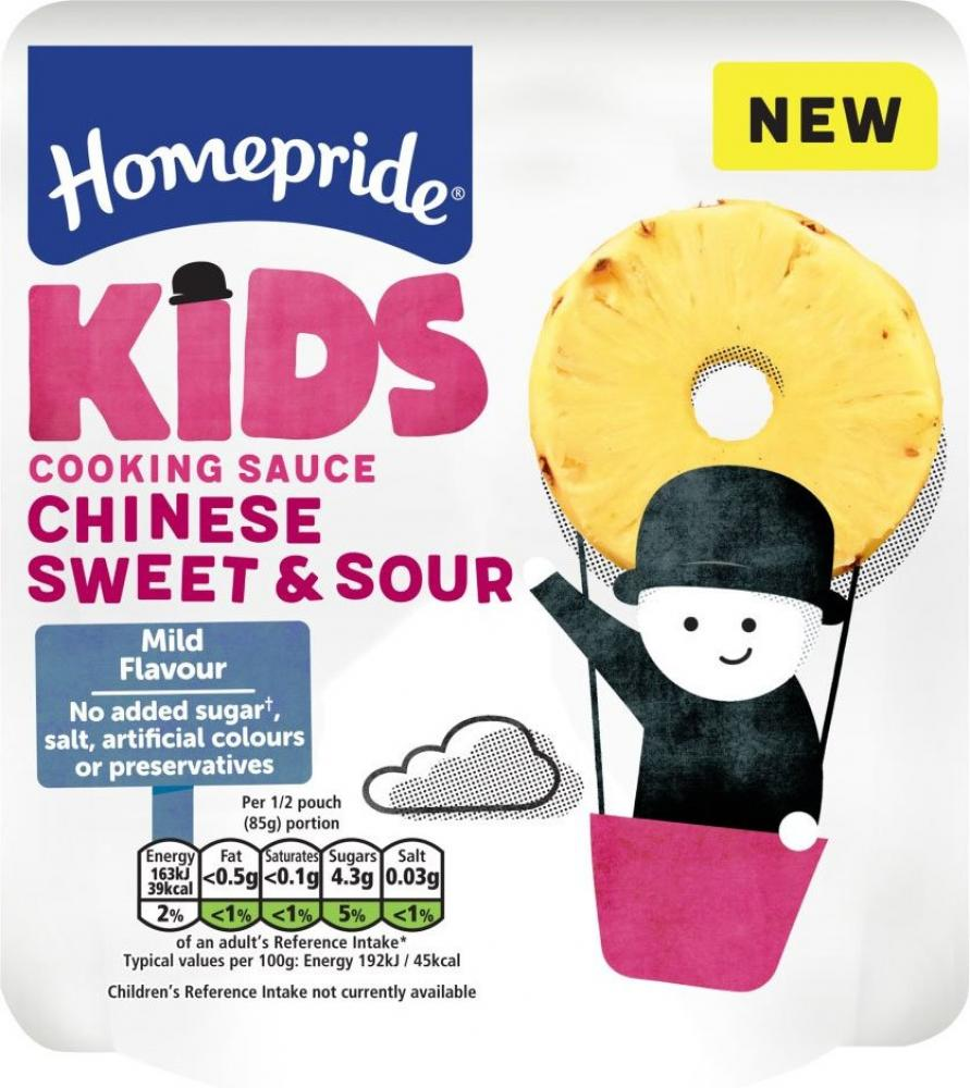 CLEARANCE  Homepride Kids Chinese Sweet and Sour Cooking Sauce 170g
