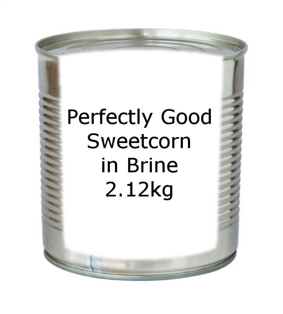 Perfectly Good Sweetcorn in Brine 2.12kg